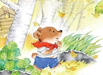 qq版动漫手绘小熊