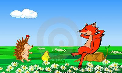 狐狸卡通图片大全