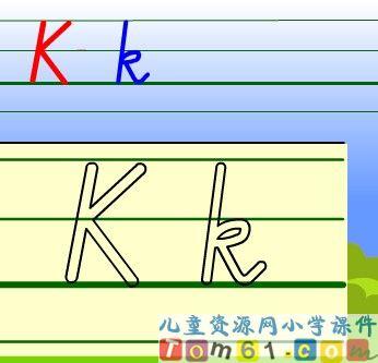 教PEP Kk课件19 人教版小学PEP英语三年级下册课件 中国儿童资源图片