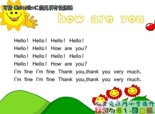 Unit 6课件46 人教版小学PEP英语三年级下册课件 中国儿童资源网 -图片
