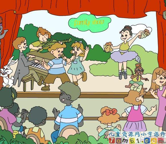 人教版小学pep英语四年级上册课件