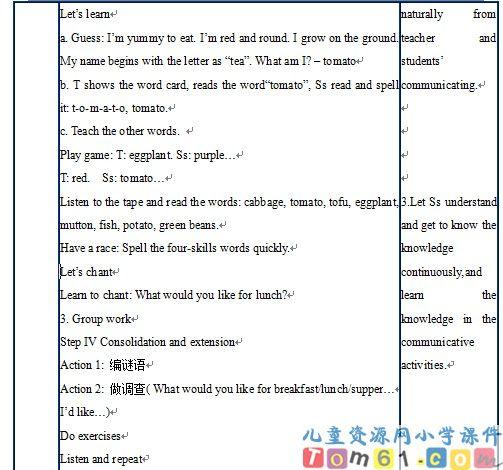 unit3教案15-人教版小学pep英语五年级上册课件-中国