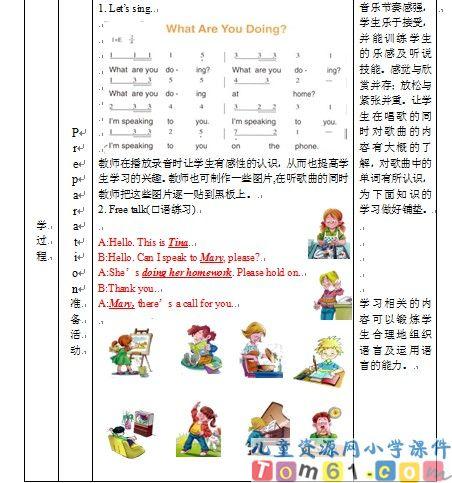 unit4教案24-人教版小学pep英语五年级下册课件-中国