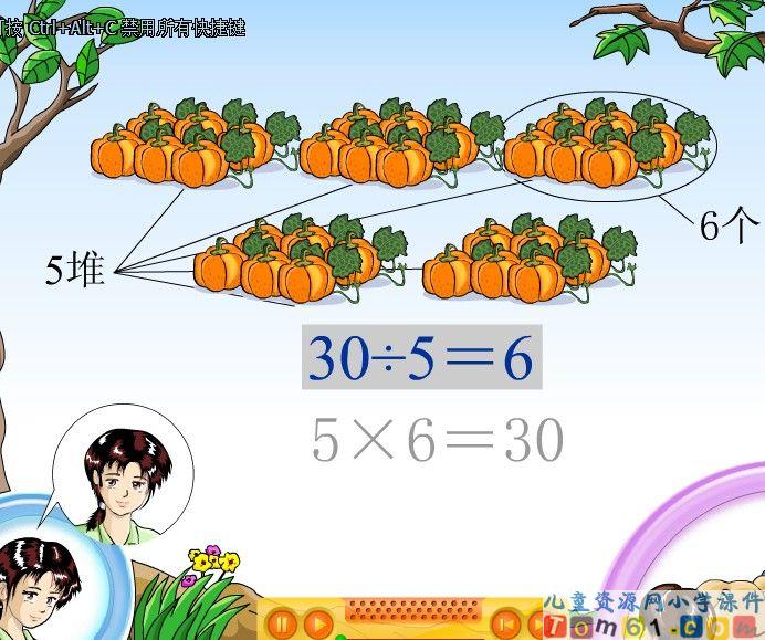 除法课件9 人教版小学数学二年级下册课件 中国儿童资源网 -除法课件9