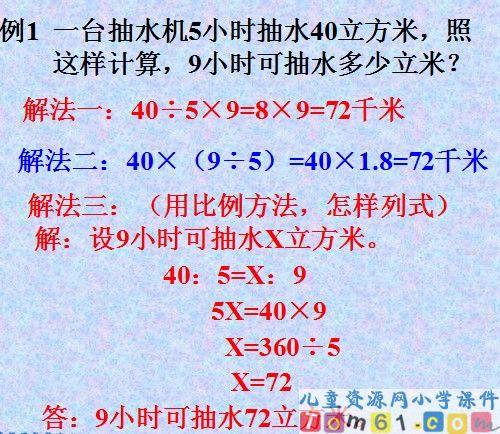 """年级正比例与反比例-小学六年级数学""""正比例反比例 ... : 中一 数学 比例 反比例 : 数学"""