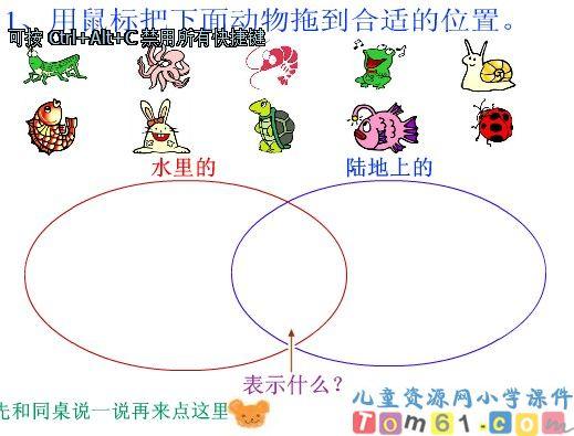 动物的集合课件1_人教版小学数学三年级下册课件_小学