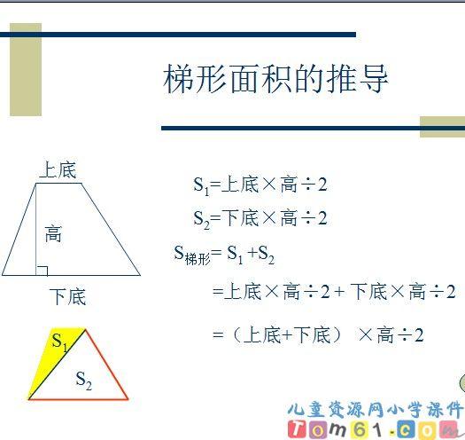 梯形的面积课件25-人教版小学数学五年级上册课件