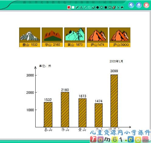 条形统计图课件