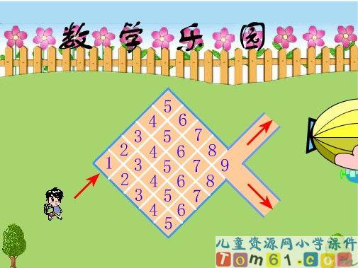 数学乐园课件2-人教版小学数学一年级上册课件-中国