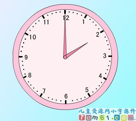 钟表时间简笔画大全