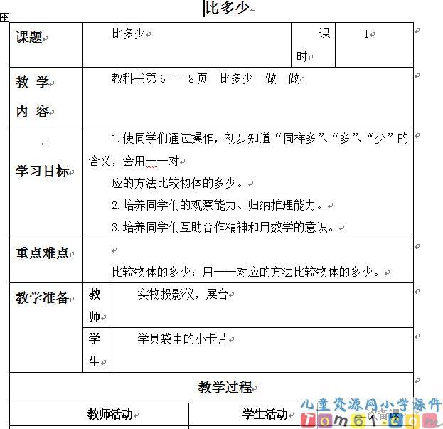 【2016人教版小学一年级教案】