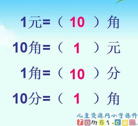 人民币的简单计算课件13