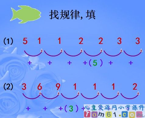 找规律课件42-人教版小学数学一年级下册课件-中国