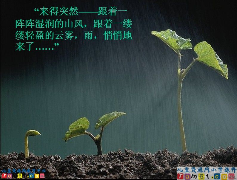 山雨教学板书设计