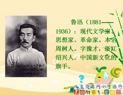 我的伯父鲁迅先生课件7