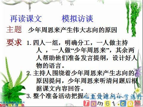 为中华之崛起而读书课件3_人教版小学语文四年级上册图片