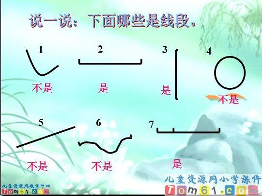 《认识线段》课件2_苏教版小学数学二年级上册课件