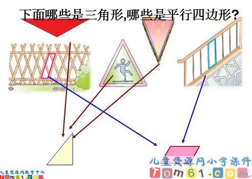 《认识三角形,平行四边形》课件