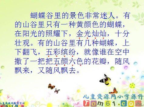 台湾的蝴蝶谷课件2