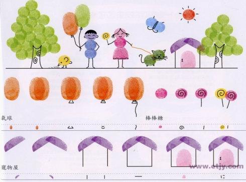家园-手指画图集图片