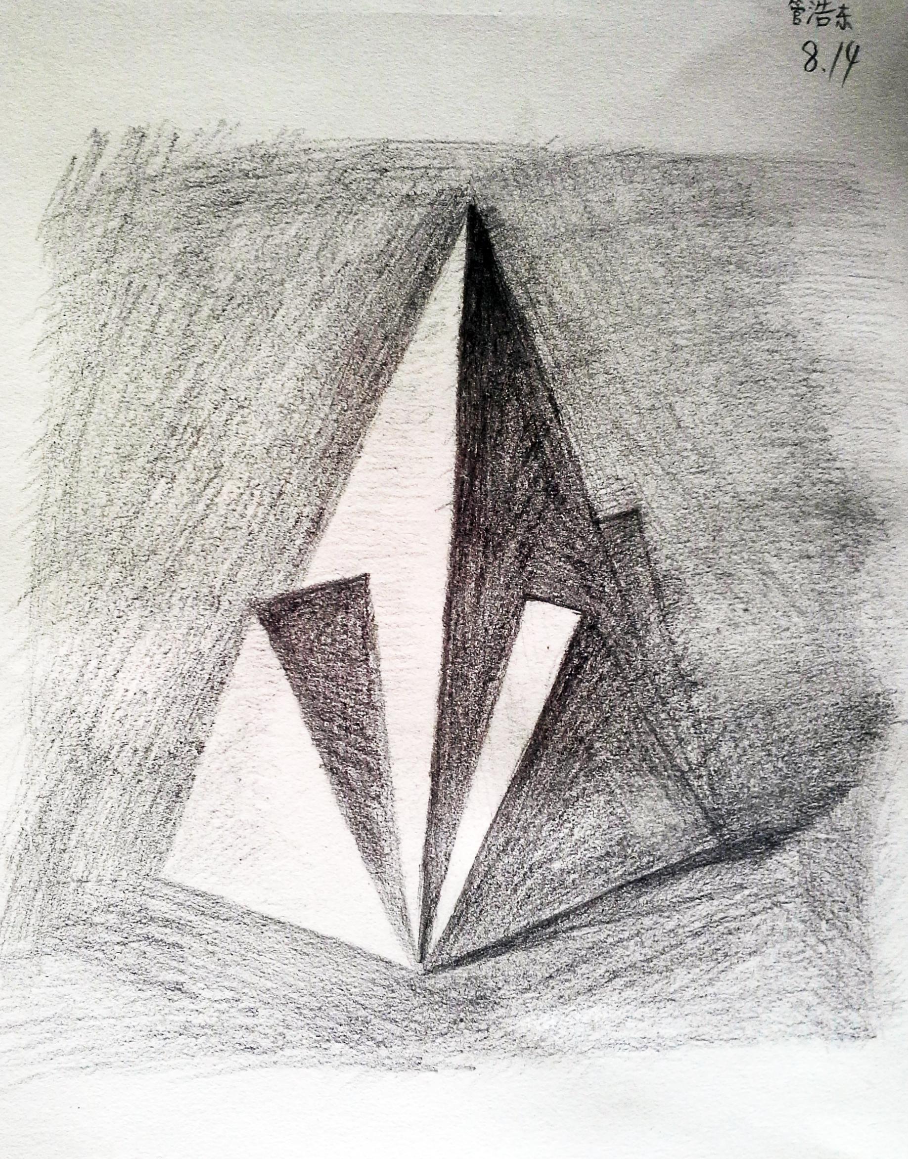 几何立体-素描图集