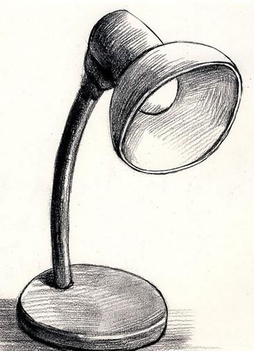 台灯-素描图集