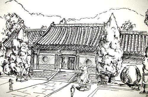 房子-素描图集