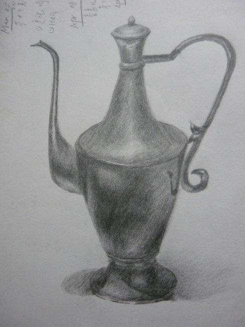 水壶-素描图集