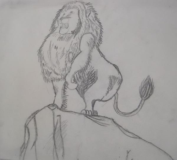 狮子王-素描图集