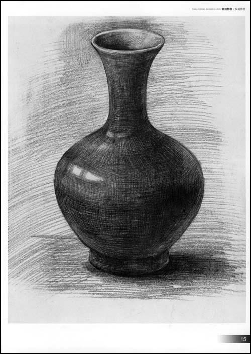 瓶子-素描图集