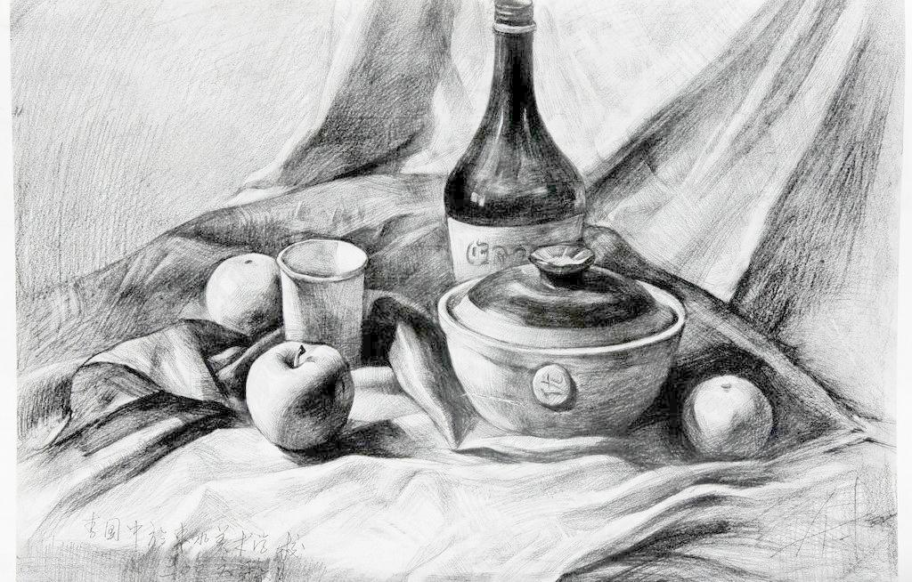 砂锅-素描图集