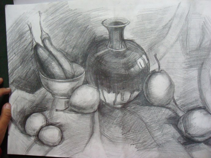 罐子-素描图集