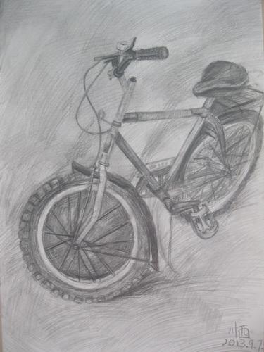 自行车-素描图集