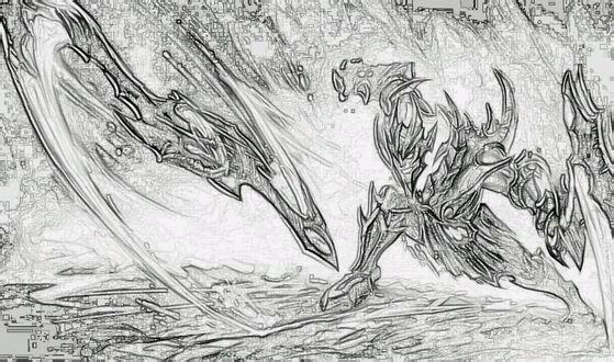 英雄联盟-素描图集