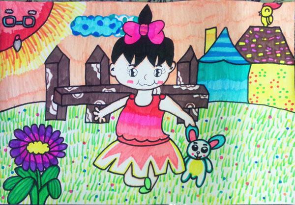 儿童素描,水彩画,少儿版画