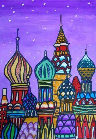 城堡-水彩画图集