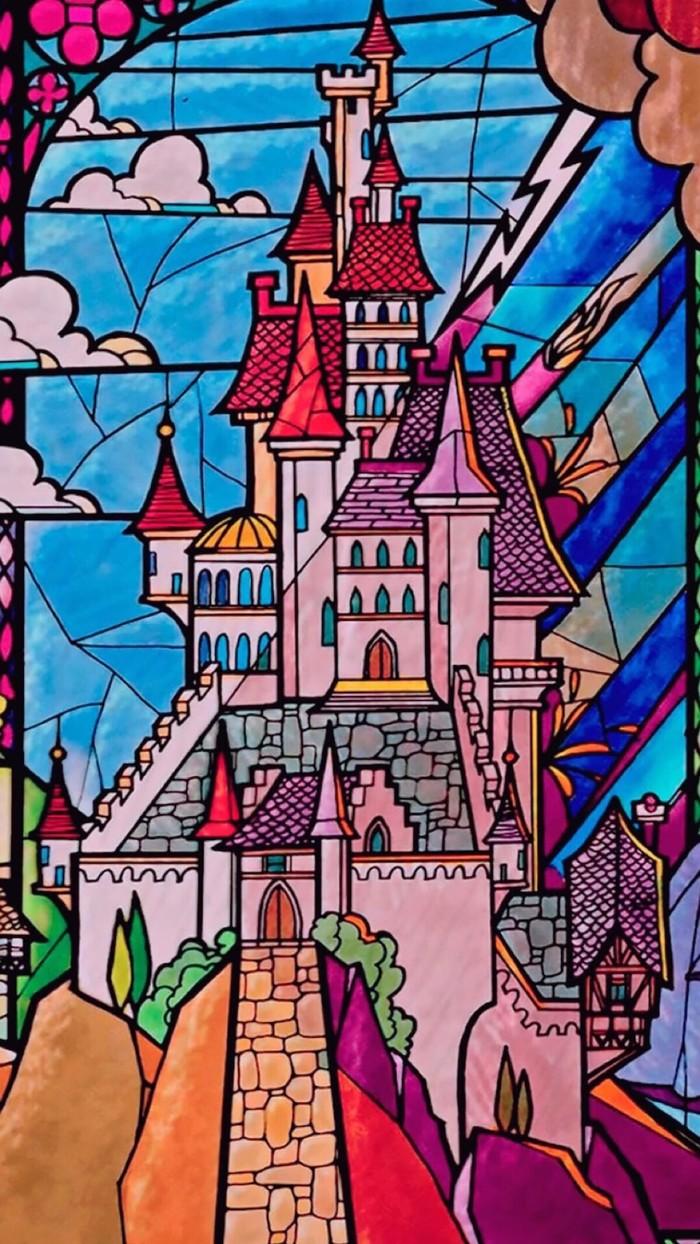 城堡-水彩画图集图片_儿童水彩画_少儿图库_中国儿童