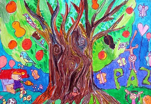 大树-水彩画图集