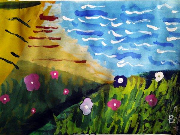 大海-水彩画图集
