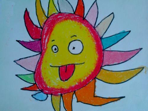 太阳-水彩画图集