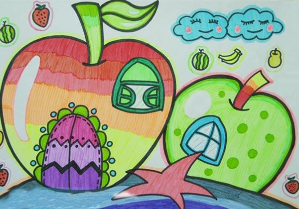 小屋-水彩画图集