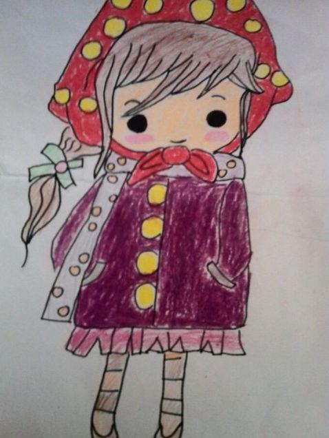 小红帽-水彩画图集