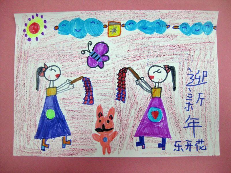 城市 蜡笔画图集图片 儿童蜡笔画 少儿图库 中国儿童