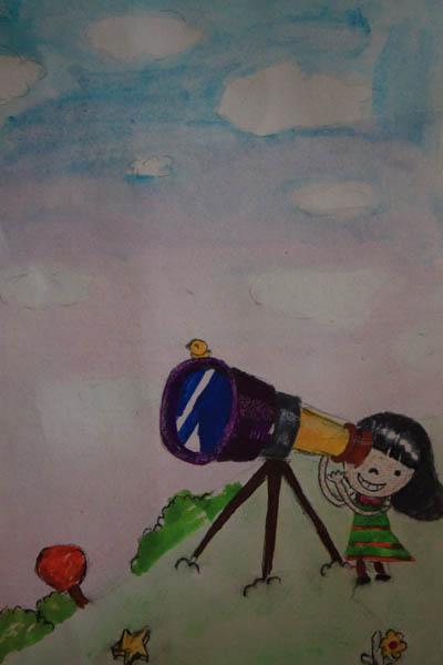 星空-水彩画图集