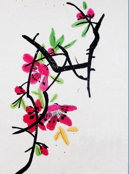 梅花-水彩画图集