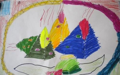 端午节-水彩画图集图片_儿童水彩画_少儿图库_中国