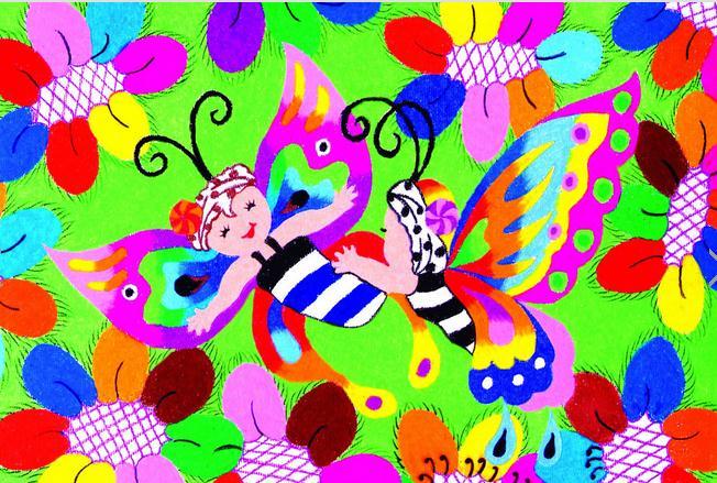 蝴蝶-水彩画图集