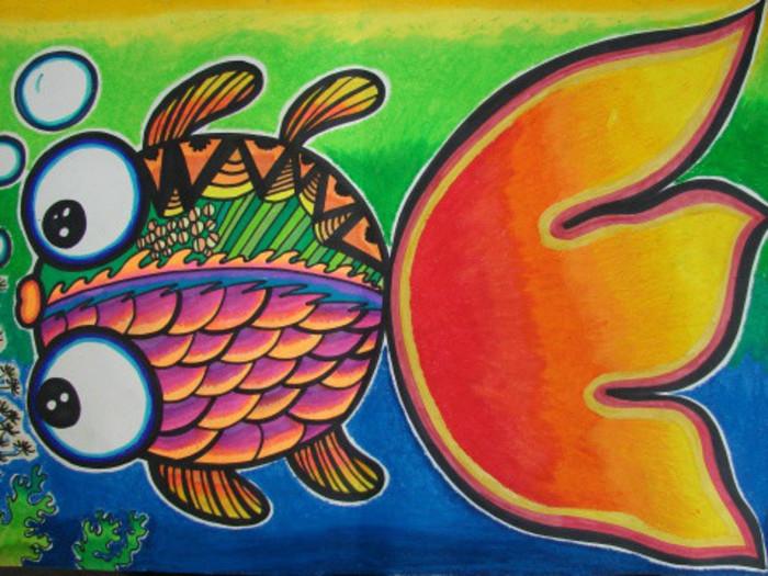 幼儿园美术儿童画:上百张创意作品,孩子需要的正是这些!