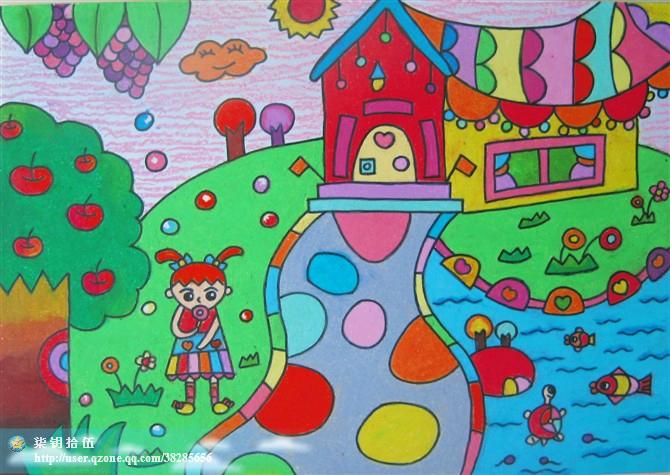 运动 蜡笔画图集图片 儿童蜡笔画 少儿图库 中国儿童