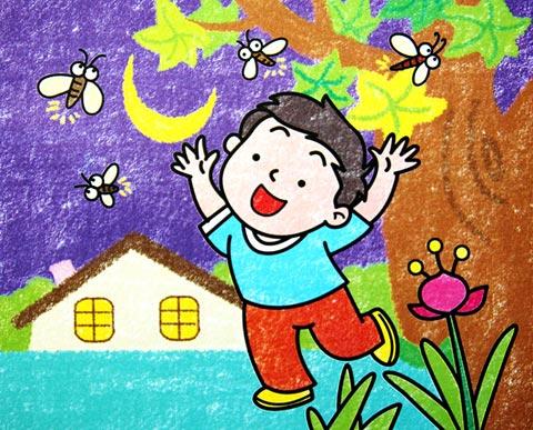 船 蜡笔画图集图片 儿童蜡笔画 少儿图库 中国儿童